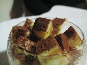 Mousse di cioccolato bianco 2