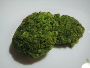 Polpette di seppie e broccoli