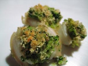 Seppie gratinate ai broccoli 2