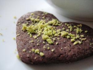 Biscotti cacao e farina di pistacchio 2