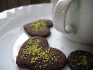 Biscotti cacao e farina di pistacchio 3