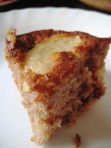Torta con crema di marroni