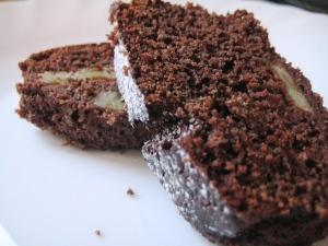 Ciambella cioccolato e banana 2