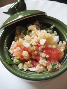 Tabulé di quinoa