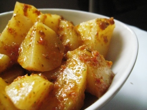Insalata di patate e pomodori secchi 2