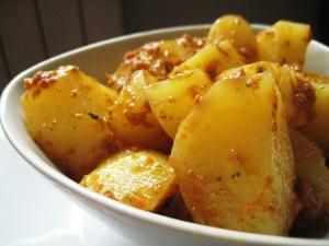 Insalata di patate e pomodori secchi 3
