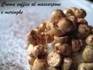 Crema soffice mascarpone  e meringhe Cracco 2