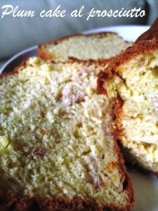 Plum cake al prosciutto 2
