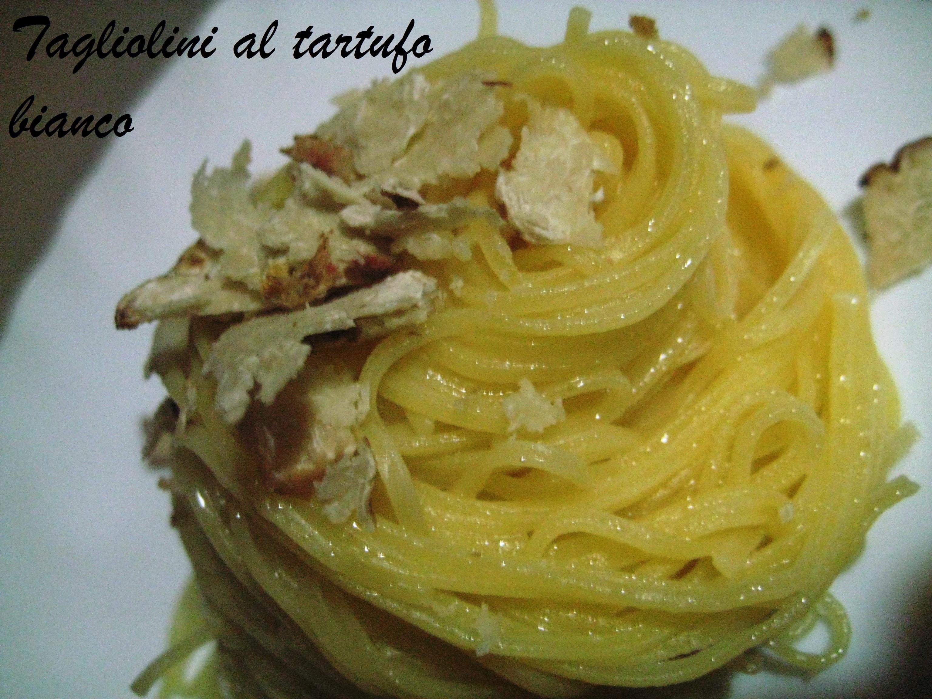 tagliolini al tartufo bianco di Cracco | Ricette pensieri e idiozie