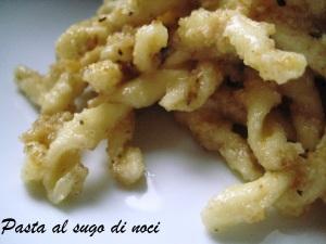Pasta al sugo di noci Cracco 3
