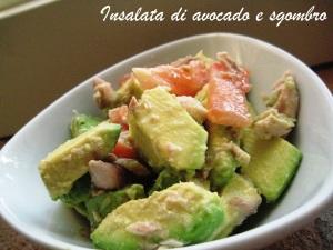Insalata di avocado e sgombro 2