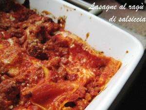 Lasagne al ragù di salsiccia 3