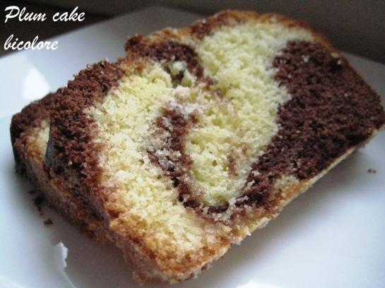 Plum cake bicolore 4