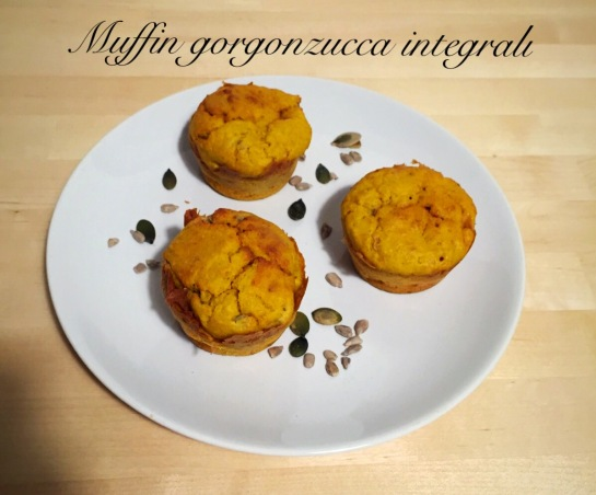 Muffin gorgonzucca integrali 2
