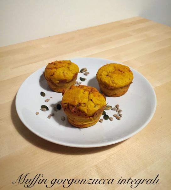 Muffin gorgonzucca integrali
