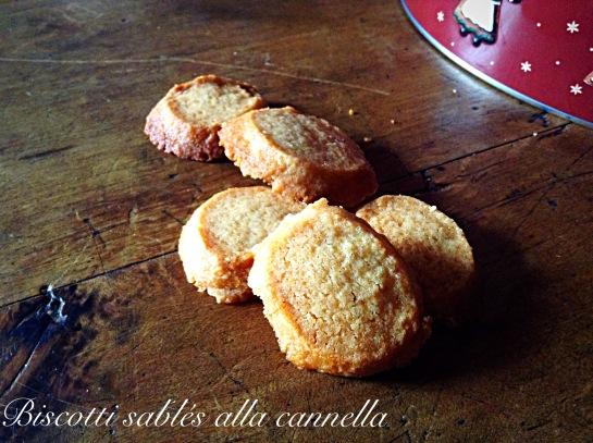 Biscotti sablés alla cannella