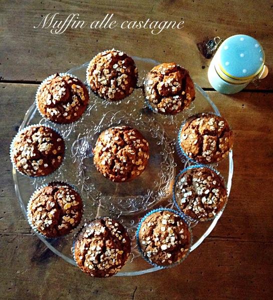 Muffin alle castagne 2