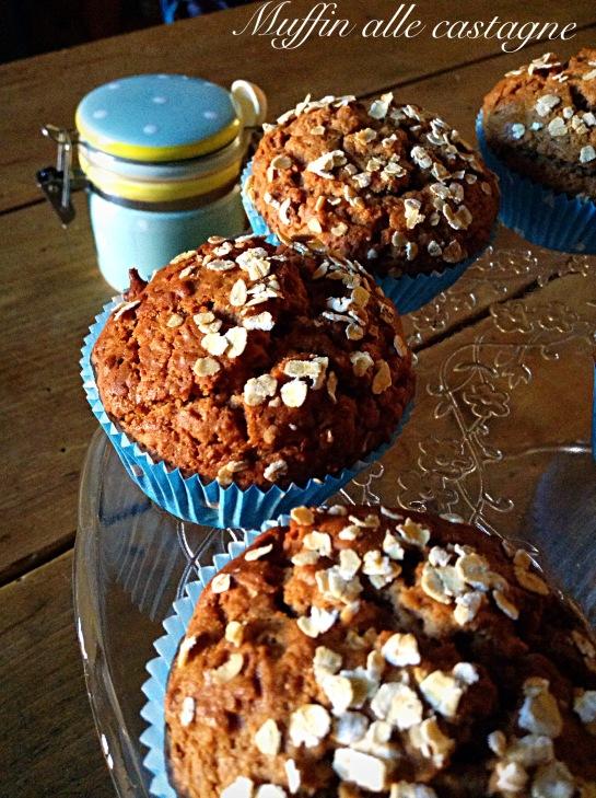 Muffin alle castagne 3