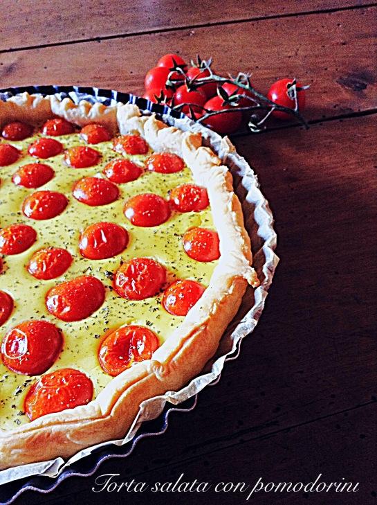 Torta salata con pomodorini 3