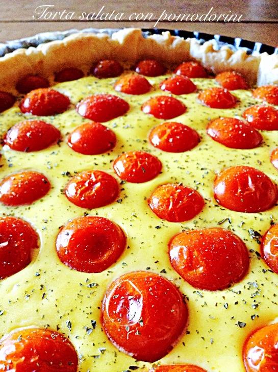 Torta salata con pomodorini 4