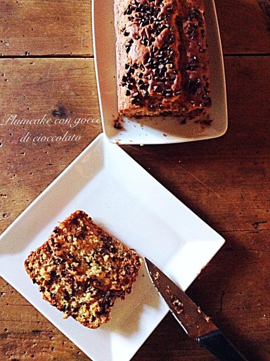 Plumcake con gocce di cioccolato 3