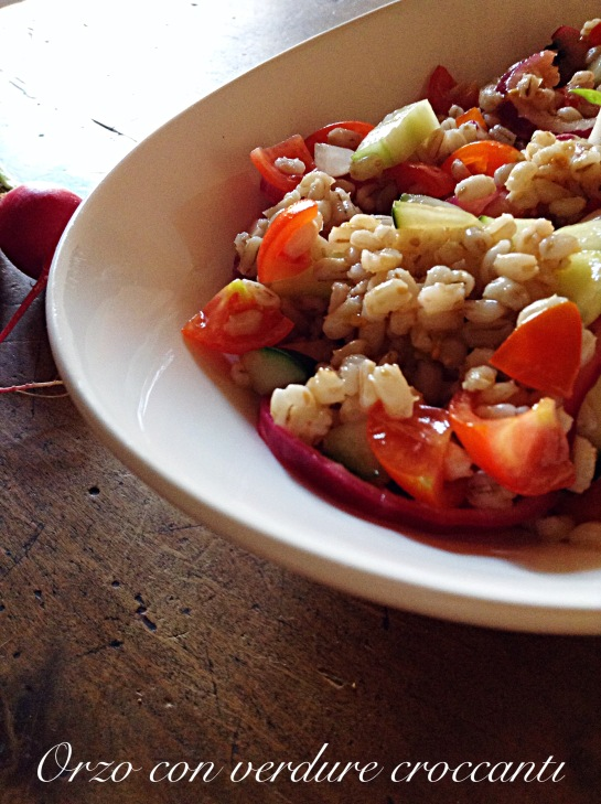 Orzo con verdure croccanti 4