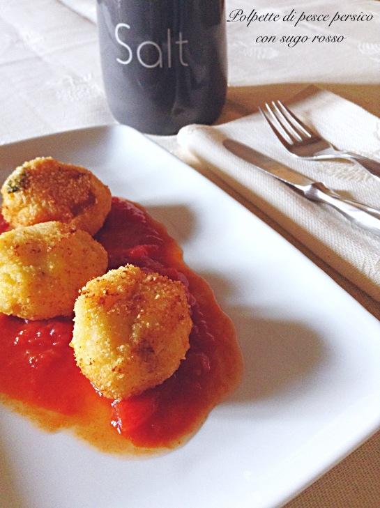 Polpette di pesce persico con sugo rosso 5.JPG